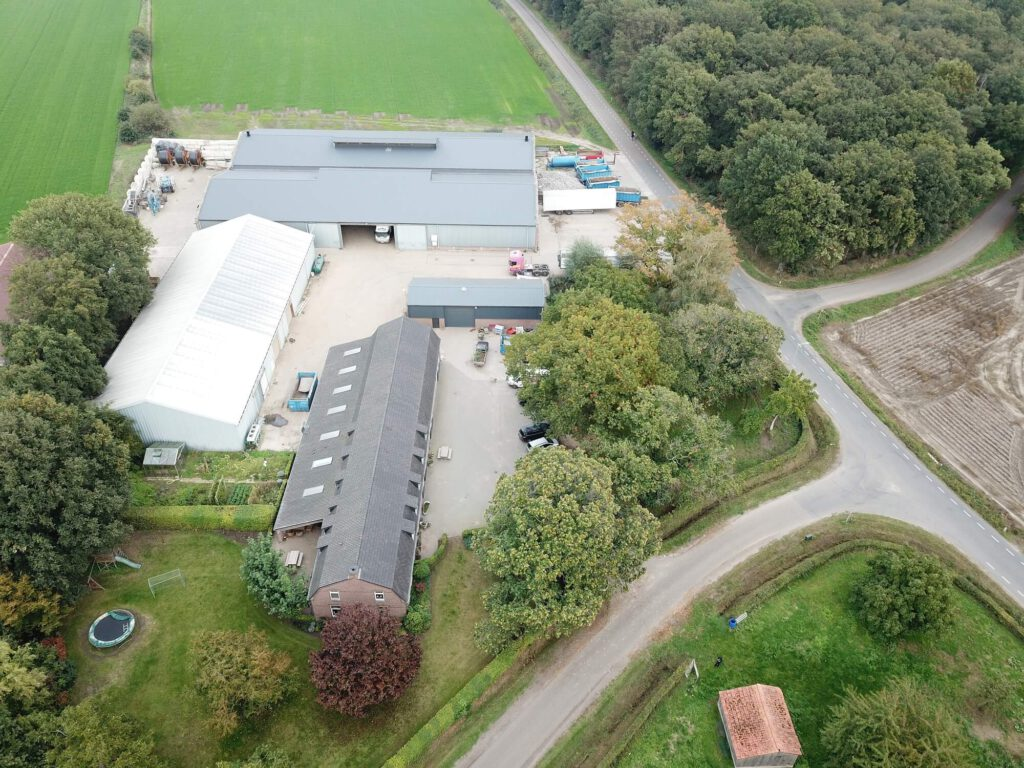 Luchtfoto Landbouwbedrijf Geurts-Pouwels